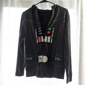 Star Wars Darth Vador Jacket Kids Size large
